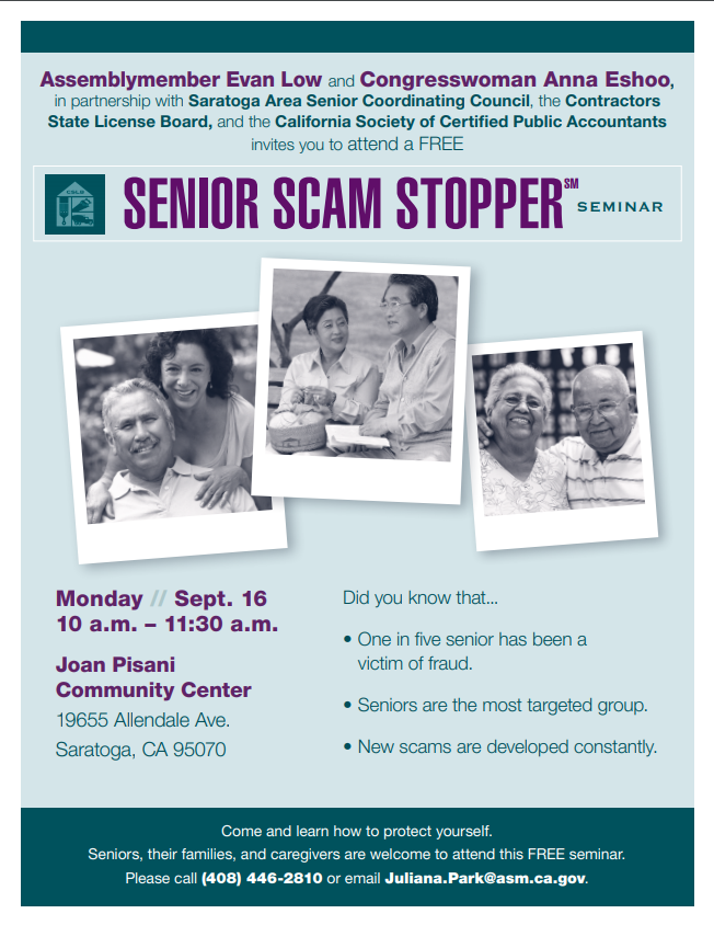 Senior Scam Stopper