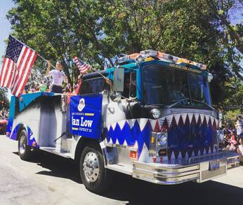 July 4th Parade with Assemblymember Evan Low