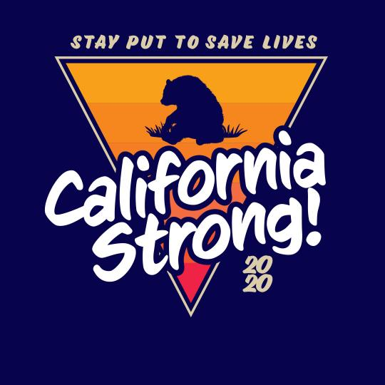 Stay put to save lives! California Strong!